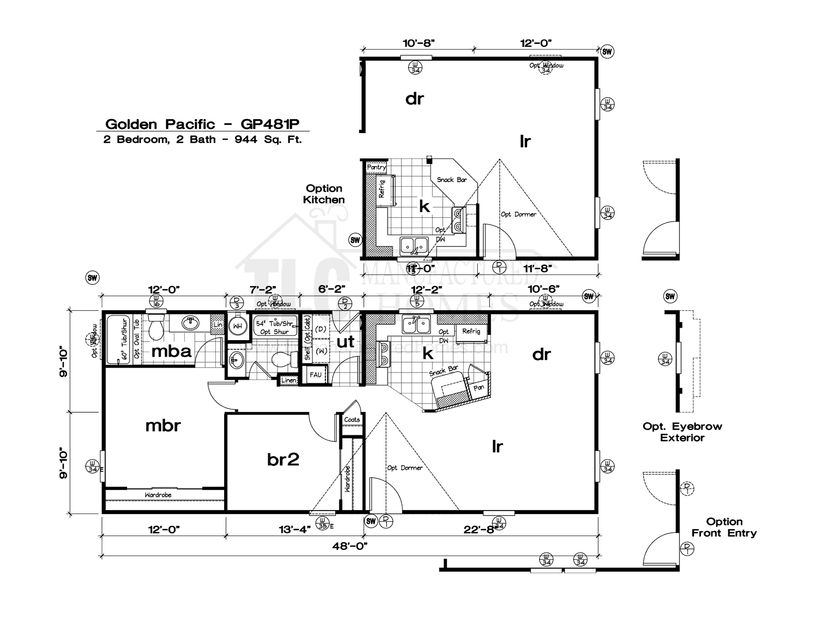 Pacific Manufactured Homes Floor Plans - ^